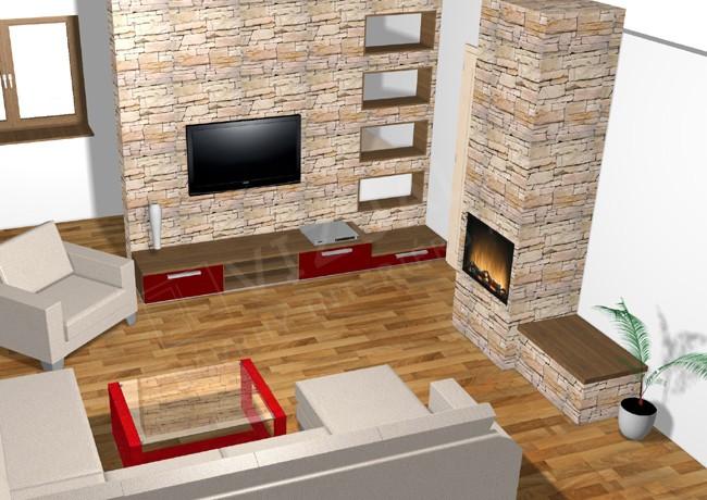 Barevnost interiéru hodně ovlivňuje účelnost místnosti galerie